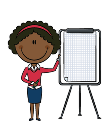 Presentation clipart cartoon. Business lady the arts