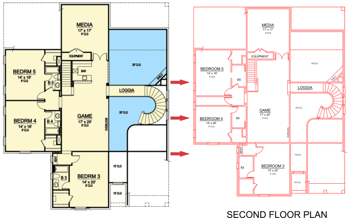 Presentation drawing architecture pdf. Create floor plans in