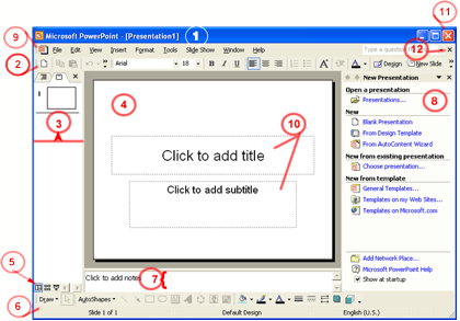 Presentation drawing powerpoint. Microsoft office creating and