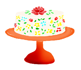 Presents clipart cake. Birthday clip art and