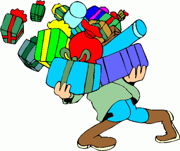 Presents clipart lot presents. Overloaded free images at