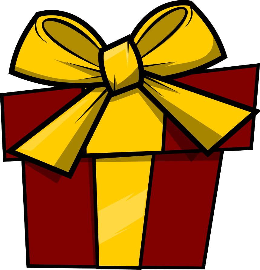 Presents clipart lot presents. Pretty christmas