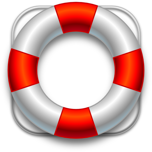 Floating drawing life preserver