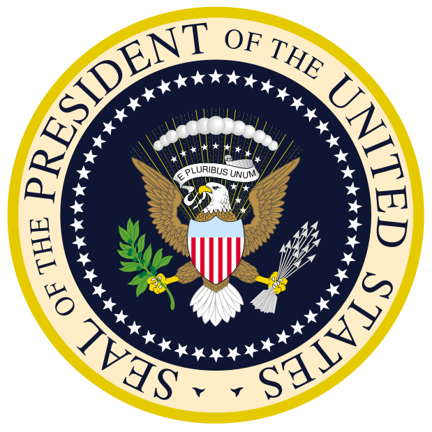 President clipart. Seal of the united