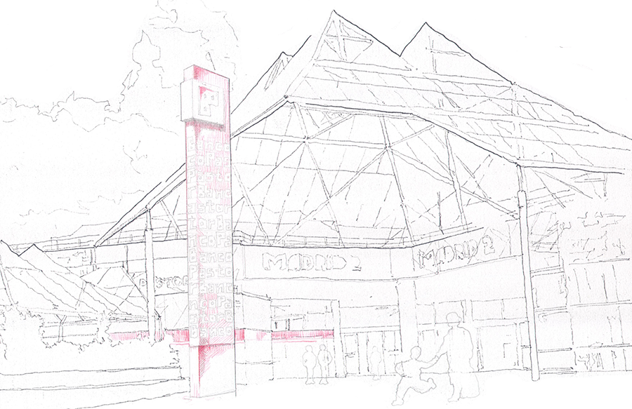 Prespective drawing outdoor. Unibail rodamco on emaze