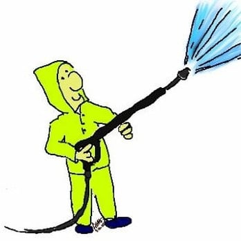 Spray clean washing washers. Pressure washer clipart pressure cleaning royalty free library