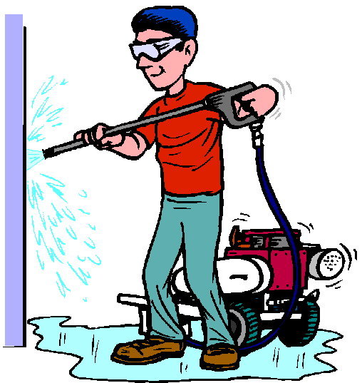 Washing clip panda free. Pressure washer clipart pressure cleaning free library