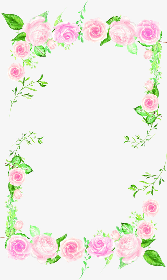 Pretty clipart pretty floral. Beautiful flowers borders frame
