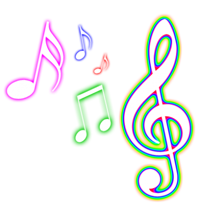 Pretty notes png. Musical transparent images cute