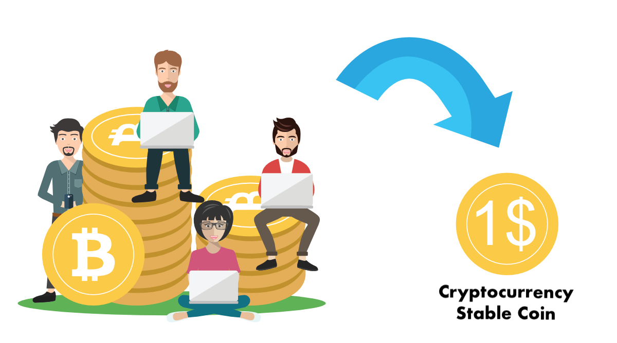 Price clipart price stability. Stable coin crypviz for