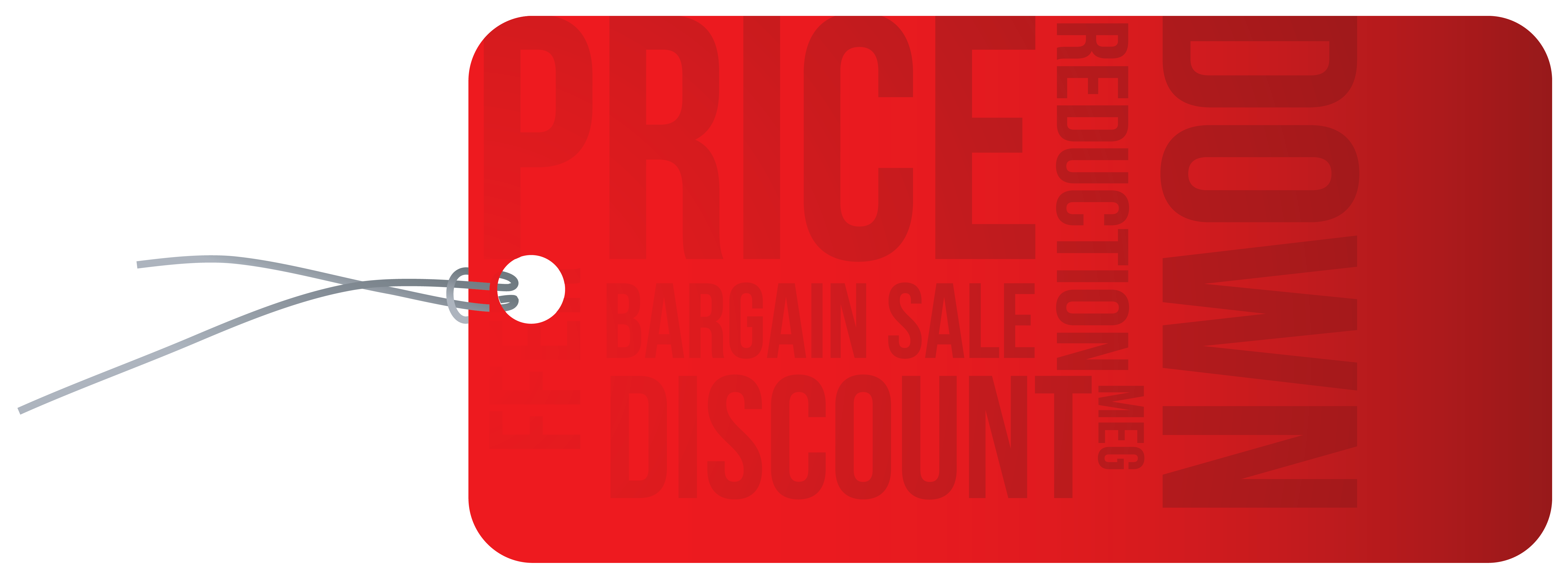 Price label png. Reduction red clipart image