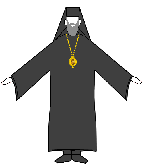 priest clipart censer