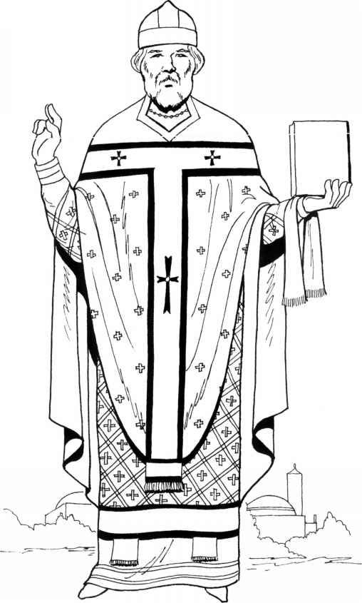 Priest clipart outfit. Byzantine medieval age cc
