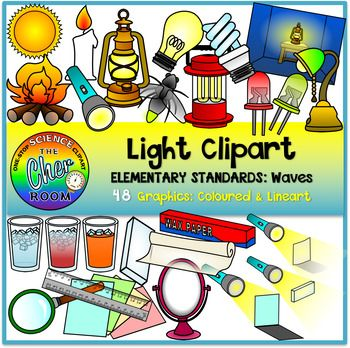 Primary clipart elementary. Light standard waves science