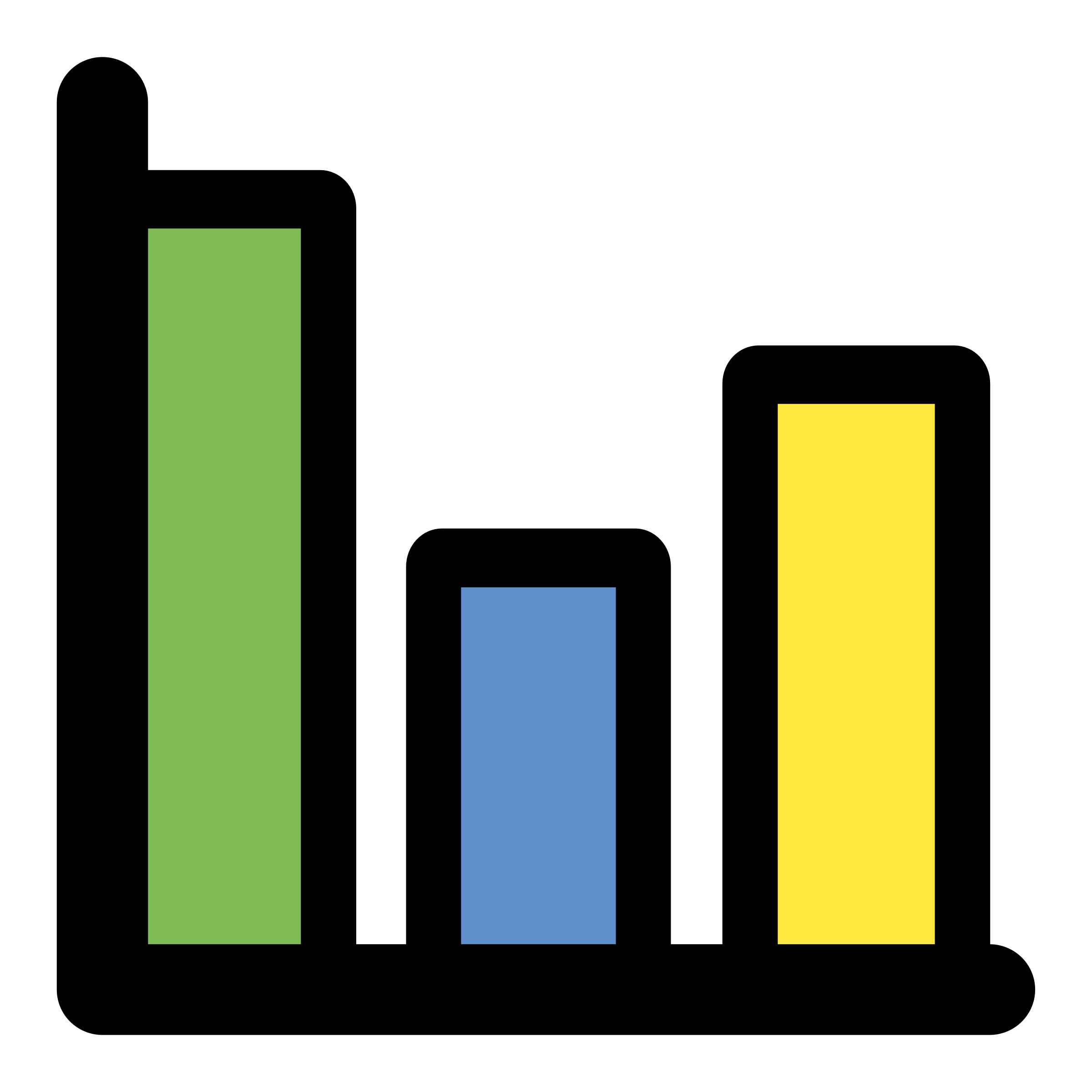 Data clipart primary data. Chart bar big image