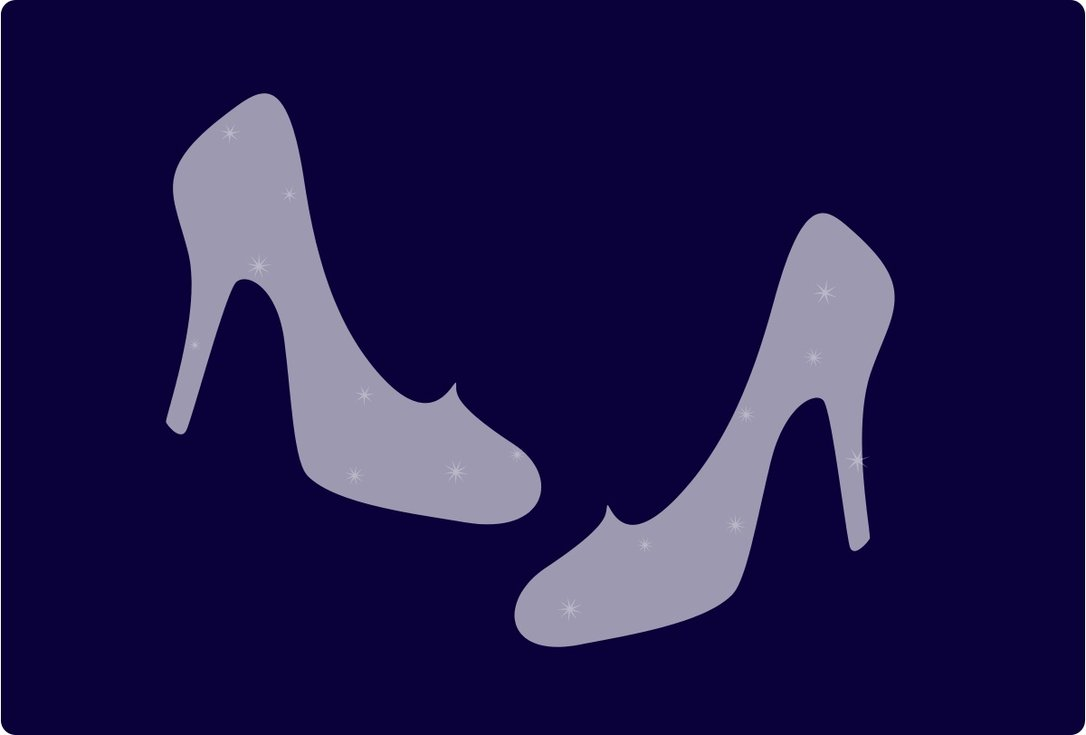 Prince clipart glass slipper. Cinderella drawing at getdrawings