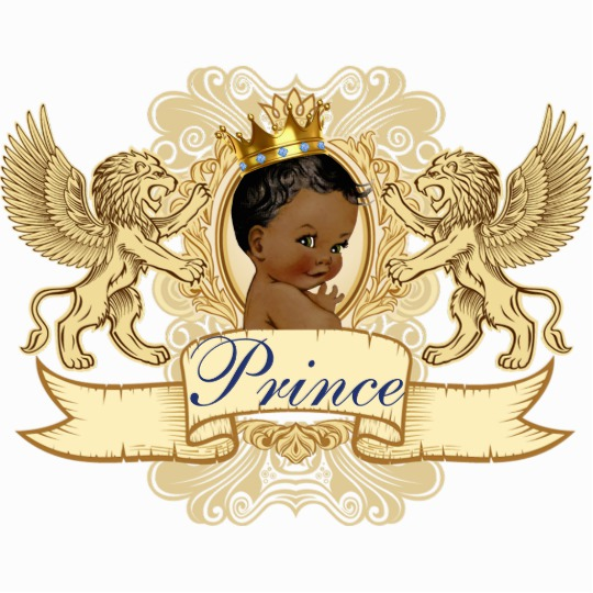 Prince clipart royal baby. African shower photo statue