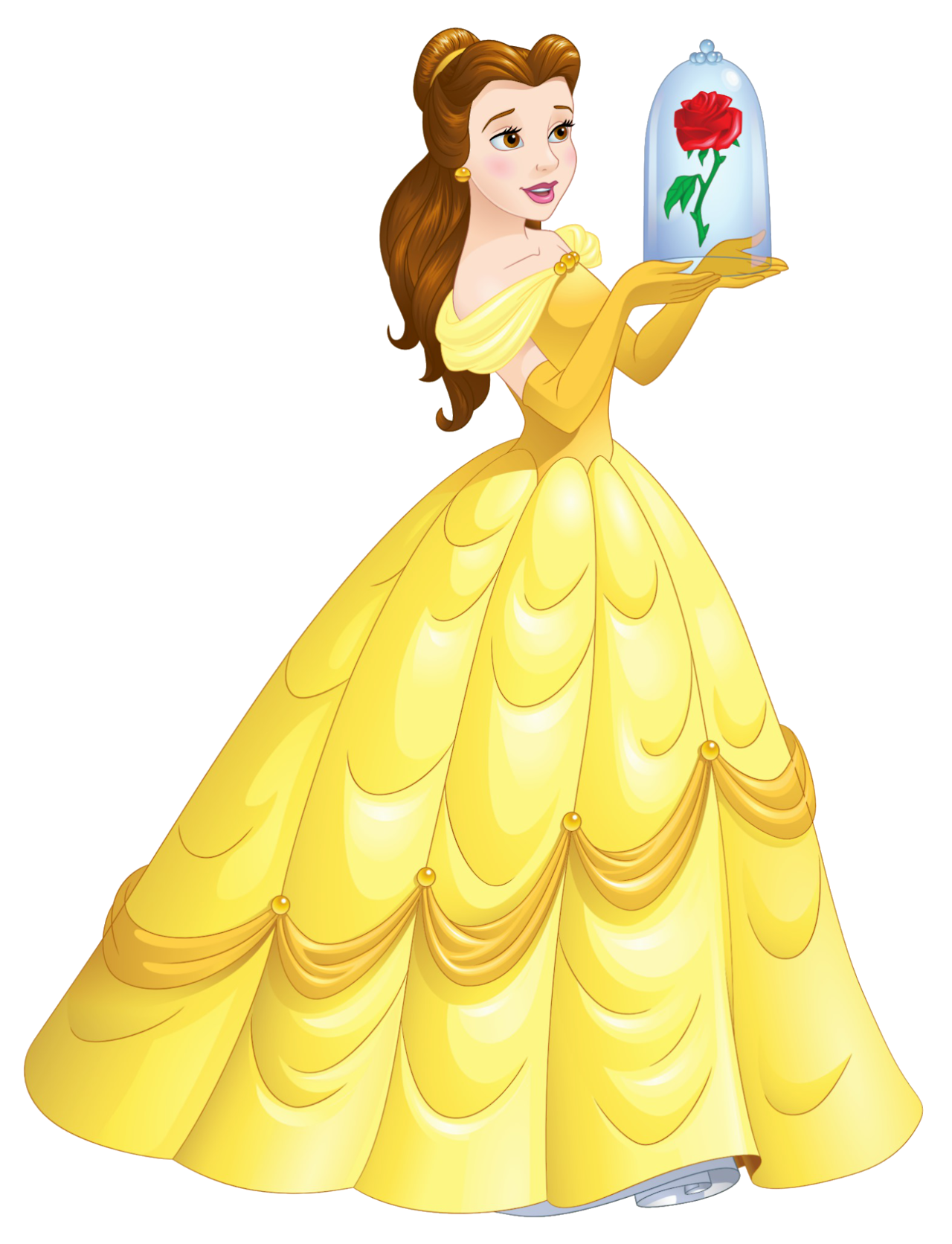 Princess belle png. Artwork en hd de