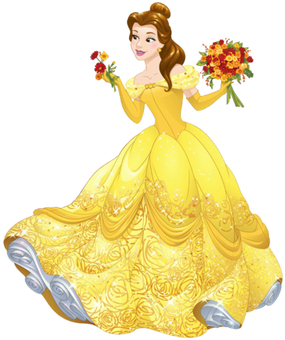 Princess belle png. Disney transparent by lab