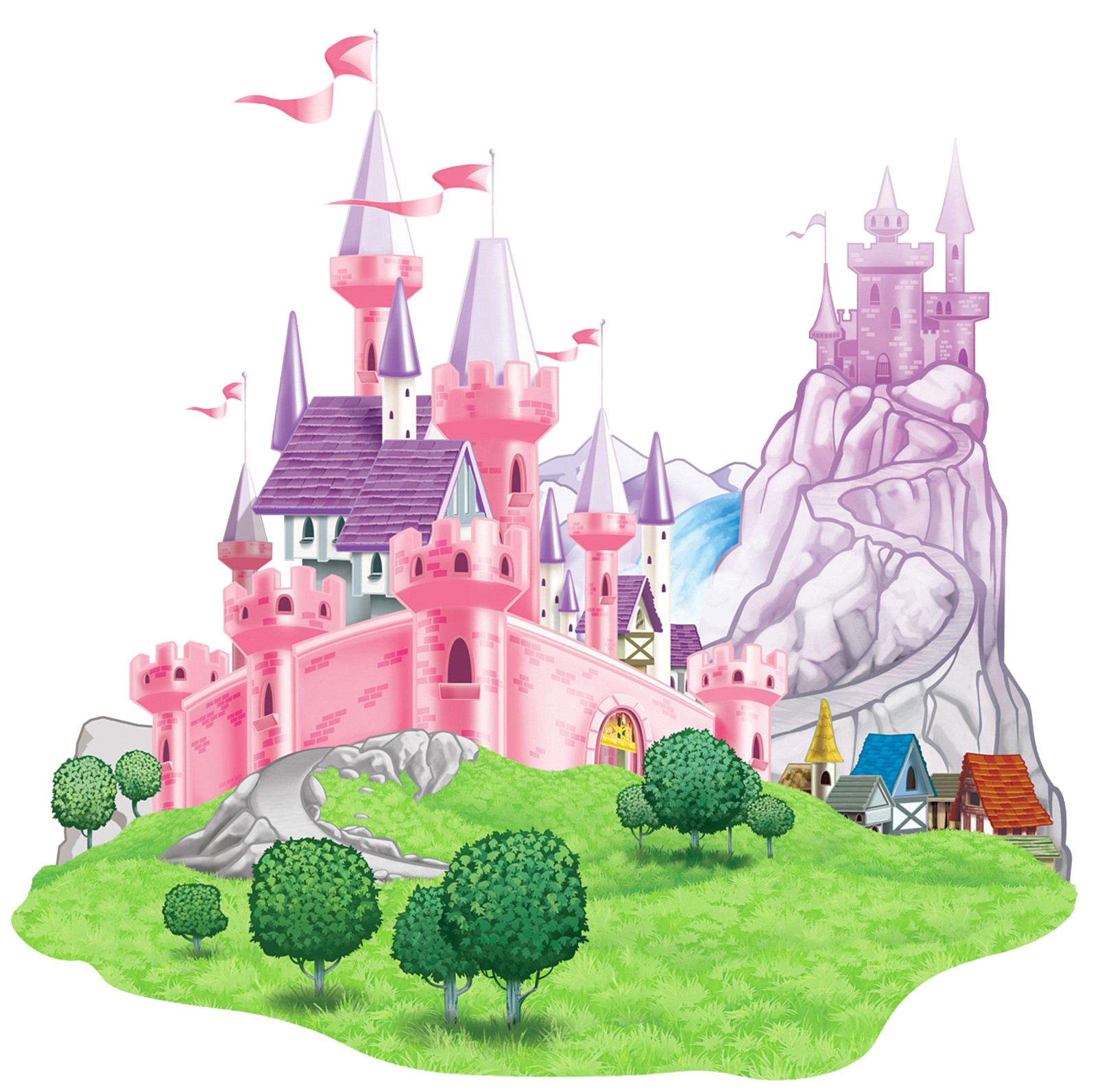 Princess castle png. Transparent picture clipart gallery