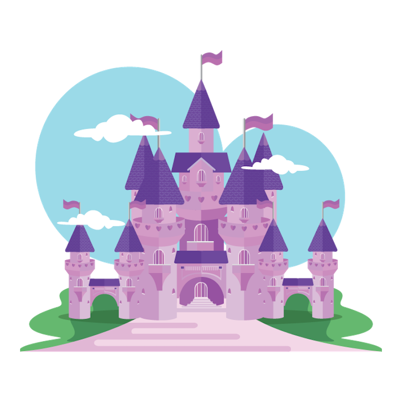 Princess castle png. For a day on