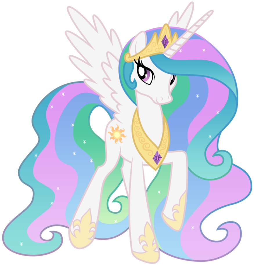 Character transparent my little pony. Image princess celestia png