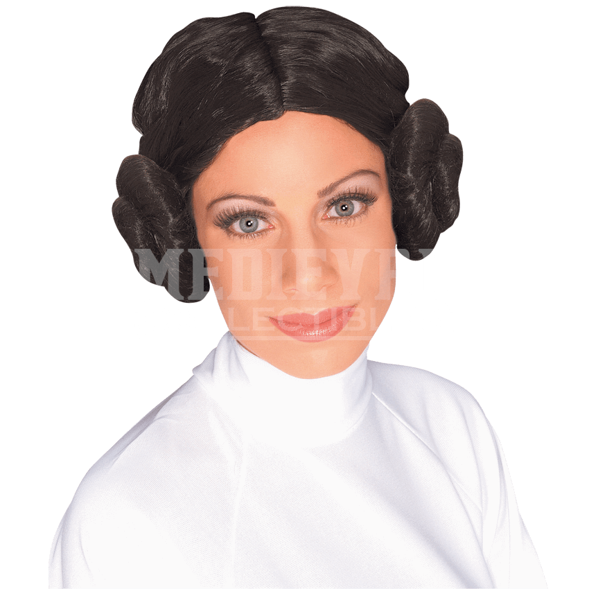 Transparent jeffrey wig. Adult princess leia rc