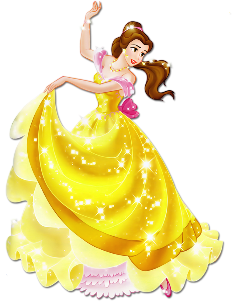 Belle vector animated princess. Pin by marjo engels
