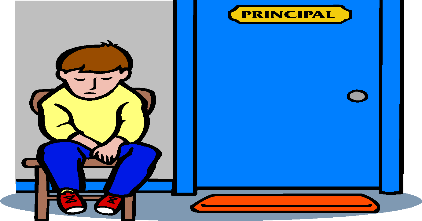 Rules clipart consequence. Student handbook care of