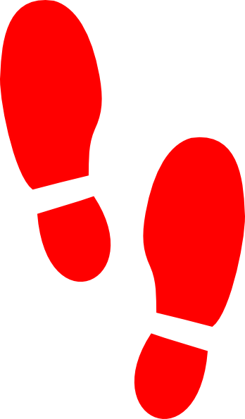 Wrestling clipart boxing shoe. Red print