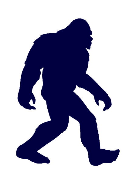 bigfoot svg transparent background