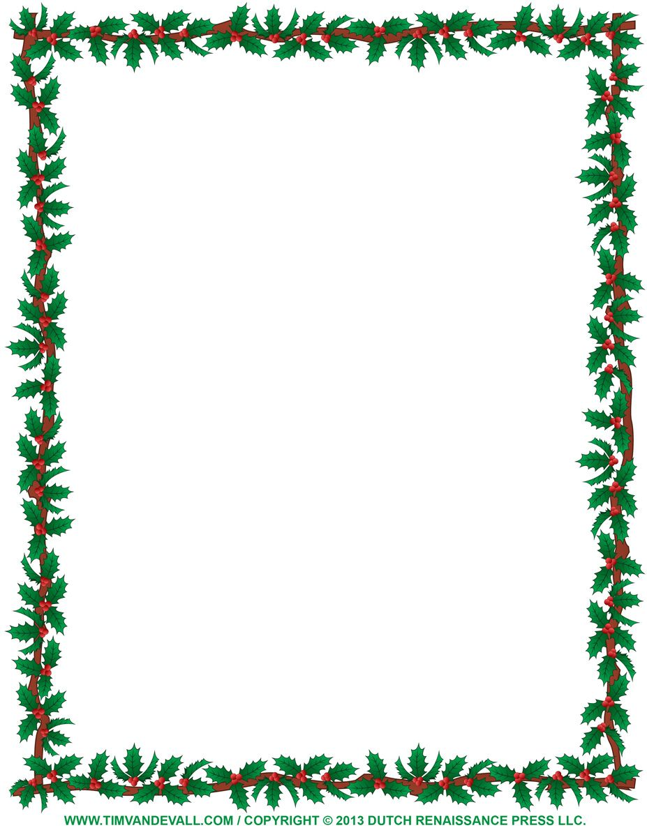 Xmas clipart boarder. Free christmas borders to