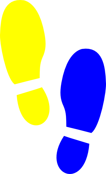 Print vector colorful. Yellow boot clipart