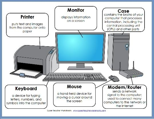 printer clipart computer component