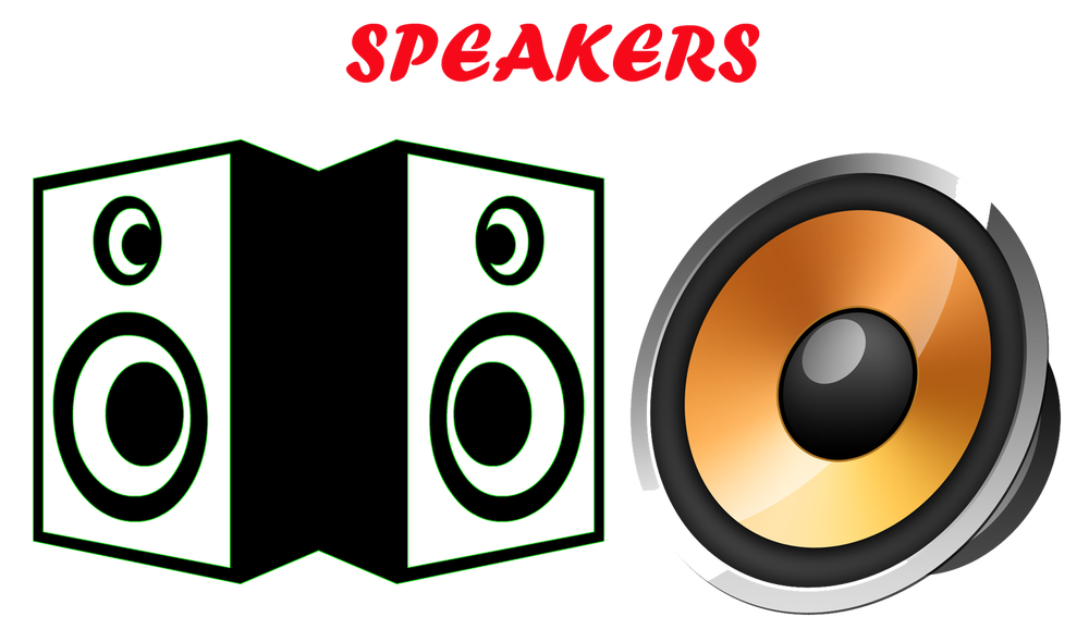 Printer clipart computer speaker. Speakers png pic mart