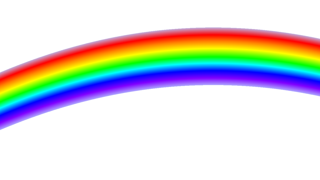 Realistic rainbow png. Transparent images all free