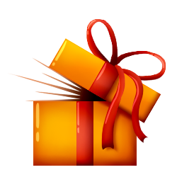 Prize clipart mystery present. Overview bags bukkit plugins