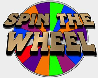 Prize clipart game prize. Spinning wheel wheels pinterest