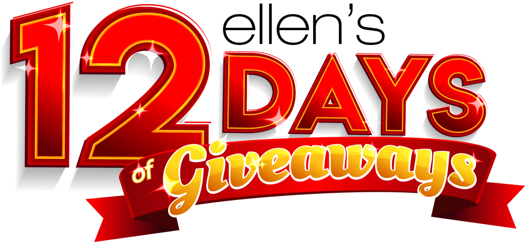 Giveaway drawing grand prize. Ellen s days of