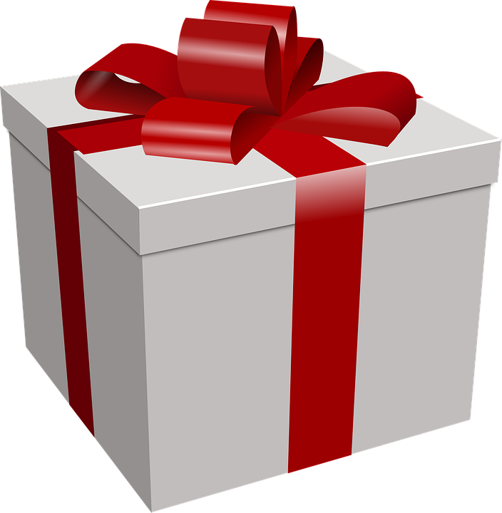Prize clipart mystery present. Language systems on twitter