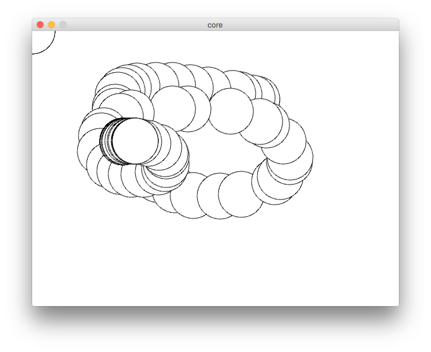 Processing drawing. Interactive development with clojure
