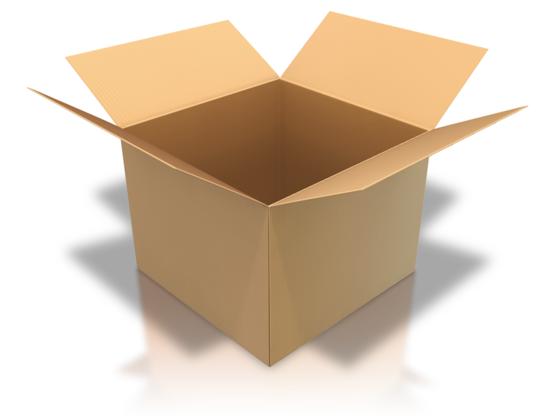 Product boxes png. Small moving box paulista