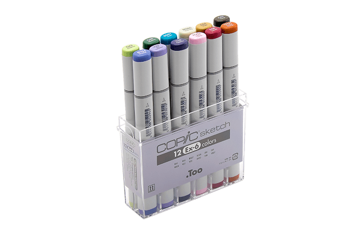 Product drawing copic marker. History of official site