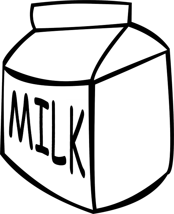 product drawing milk