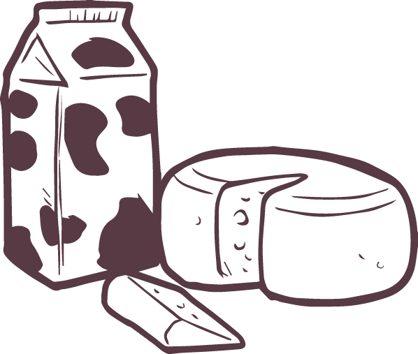 Product drawing milk. Dairy malaysia cheese products