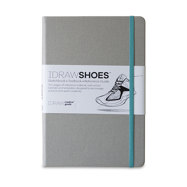 Product drawing practice. Idraw shoes sketchbook