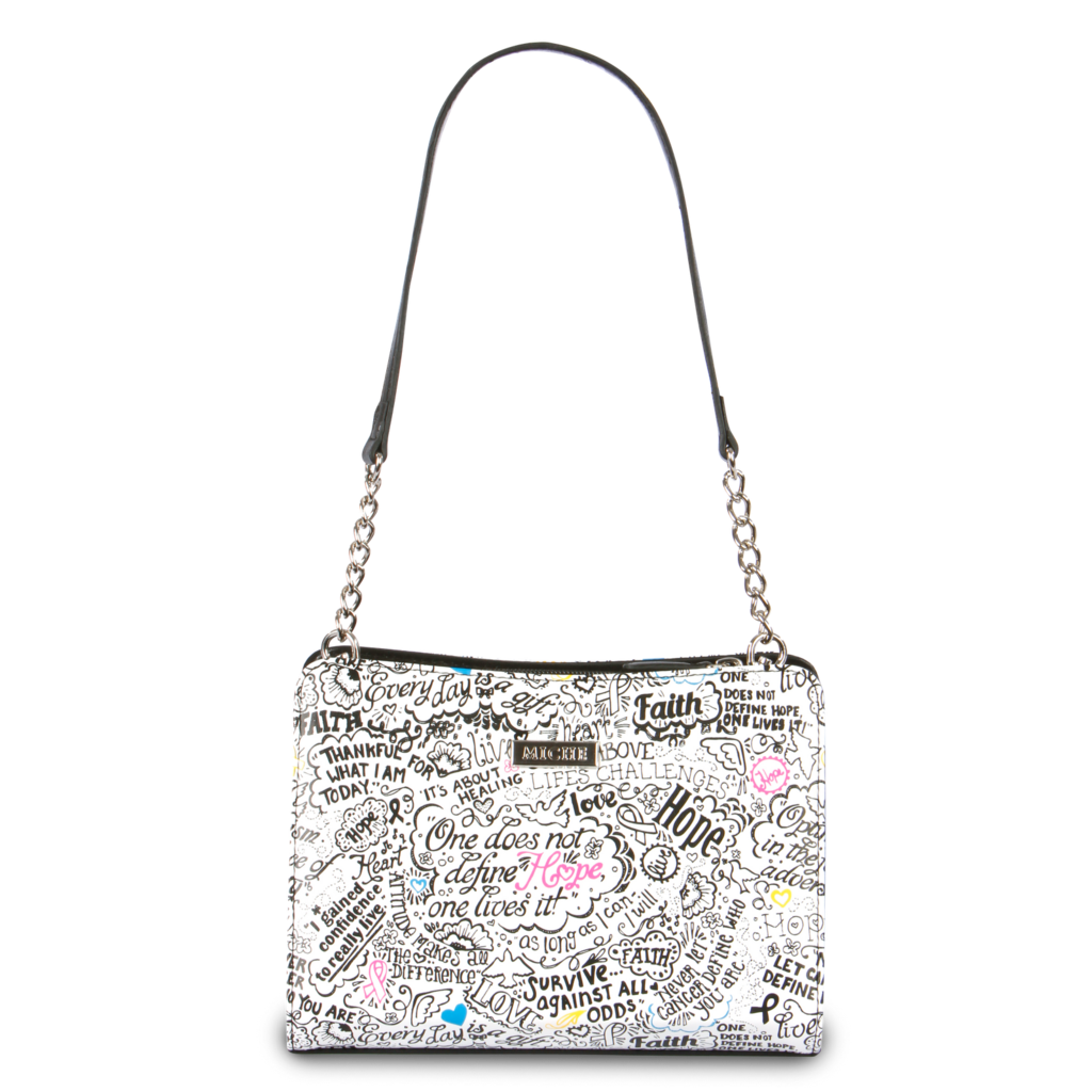Product drawing purse. Multi hope petite schwag
