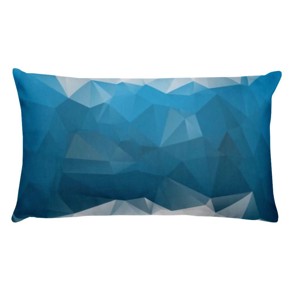 Vector abstracts polygon. Basic pillow abstract polygonal