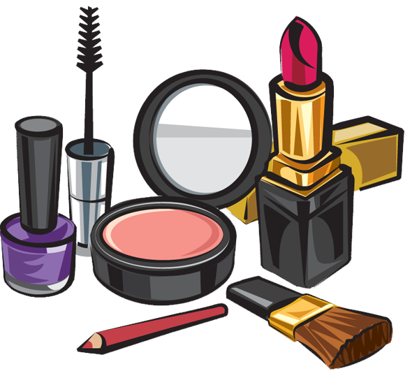 Product vector beauty. Makeup clip library free