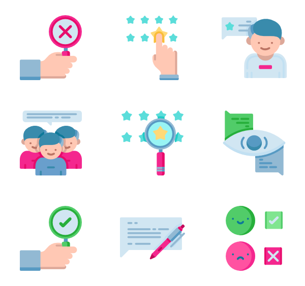 Product vector consumer. Review icons free customer